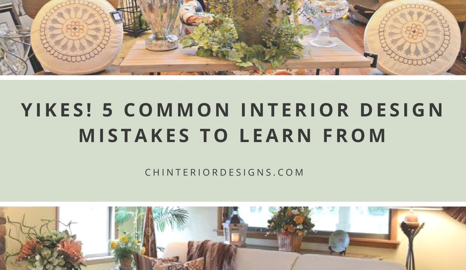 Yikes 5 common interior design mistakes to learn from - How to learn interior designing online ...